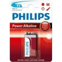 PILAS 9V POWER ALKALINE PHILIPS