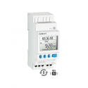 DAILY DIGITAL TIME SWITCH-WEEKLY TERMINAL MICRO 0 CHANNEL
