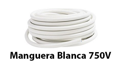 White Hose 750V Flexible