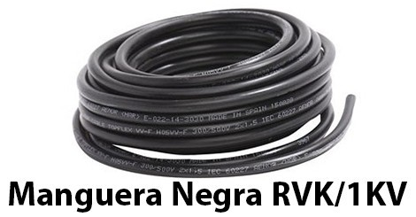 Cable RVK 1KV Black Hose